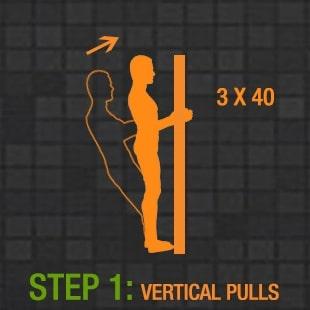 вертикальные подтягивания